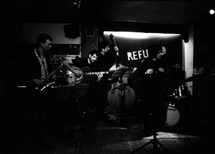Guillem Arnedo band & Celeste Alías at El Refugio Jazz Club, 24032017
